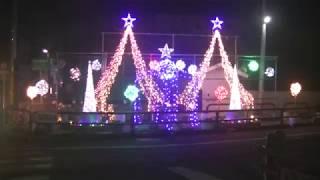 岡山・備前【福原商店街】イルミネーション①(平成29年12月14日) thumbnail