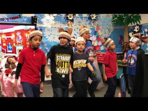The Nutcracker Play Part 1 2016 at Elwin Elementary School