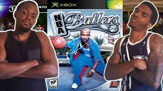 CLASSIC VIDEO GAME RIVALRY! - NBA Ballers (Xbox) | #ThrowbackThursday ft. Juice