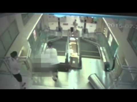 Escaleras El Ctricas Trampa Mortal Youtube