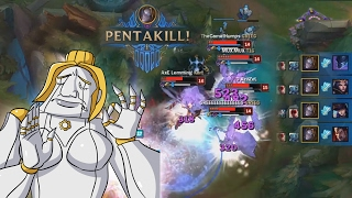 When The PENTAKILLS Just Right... | PENTAKILL MONTAGE | INSANE ONESHOT PENTAS INSIDE!