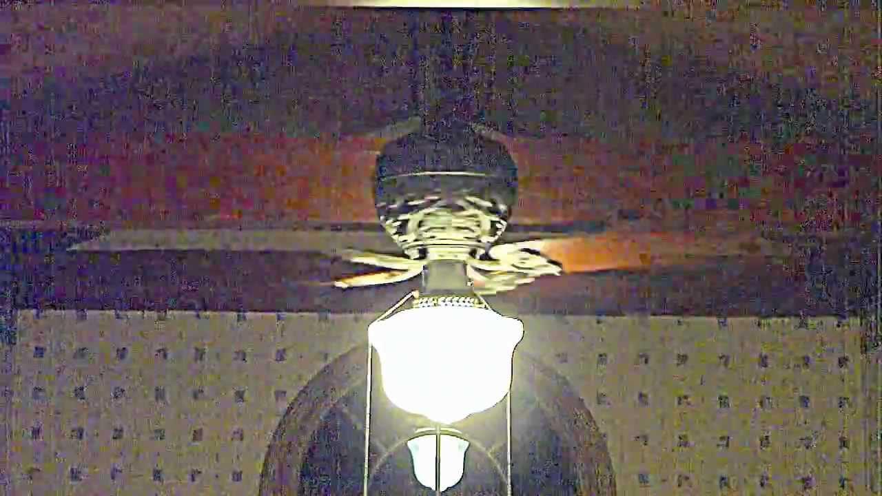 52 iron hunter 1886 ceiling fan youtube aloadofball Images