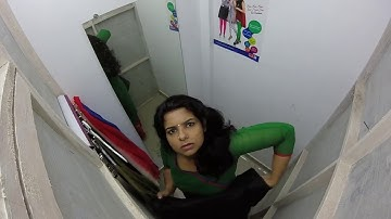 Spy Camera in dressing room   10 MILLION VIEWS   Malayalam TV Channel Anchor's video LEAKED