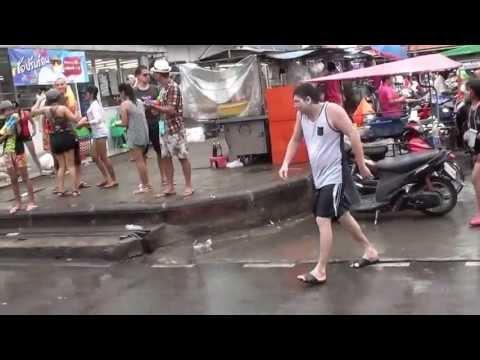 Koh Samui, Lamai - Songkran 2013 part-10/10