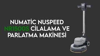 Cilalama ve Parlatma Makinesi Numatic NR.1500S Video