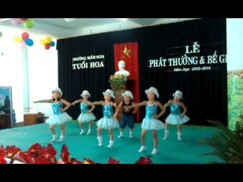 Nhảy Nobody của trường mầm non Tuổi Hoa