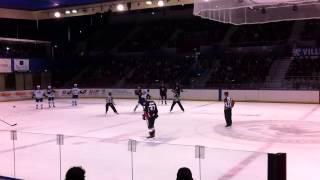 hockey week ahl match binghamton syracuse fight oct 05