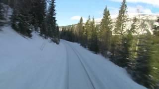 Nordlandsbanen minutt for minutt  vinterr nrk