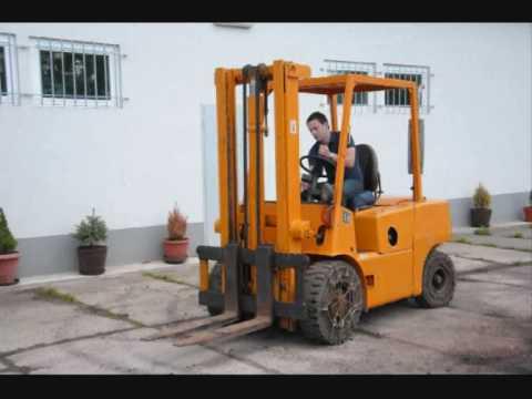 Wózek Widłowy Balkancar DV 1792 3,5 t