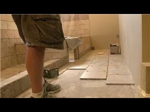 Bathroom Tiling How To Install 12 X Tiles On Floor