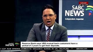 DA intends to lay criminal charges - VBS Mutual Bank saga