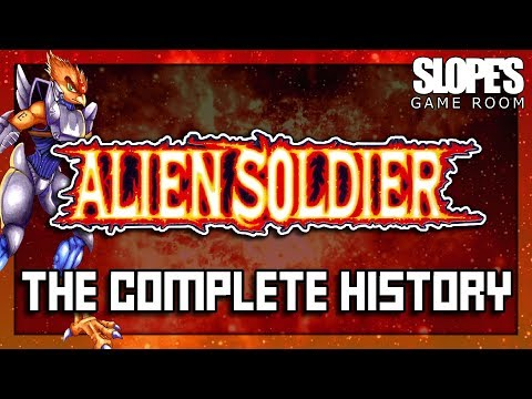 Alien Soldier: The Complete History - SGR (feat. Quinton Reviews) - 동영상