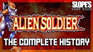 Alien Soldier: The Complete History - SGR (feat. Quinton Reviews)