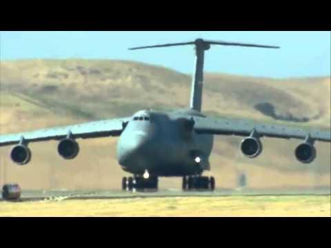 ▶Avion de logistique  3 KC 10s , C 17, C 5