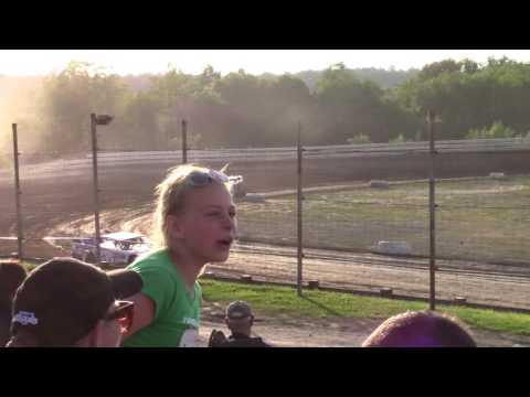 Hummingbird Speedway (6-10-17): Street Stock Heat Race #1