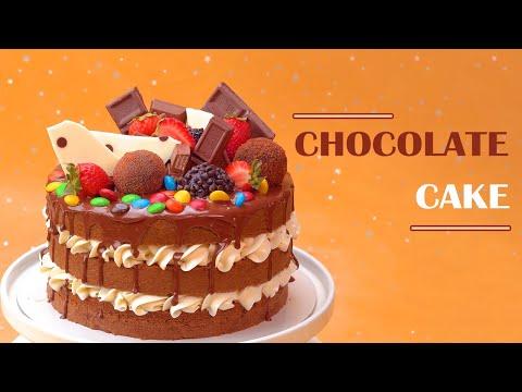 Chocolate Cake Decorating Ideas | How To Make Chocolate Cake Decorating Tutorial | Top yummy Japan