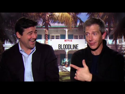 Kyle Chandler & Ben Mendelsohn ('Bloodline') talk sibling rivalry, sea lice, and swimsuit models