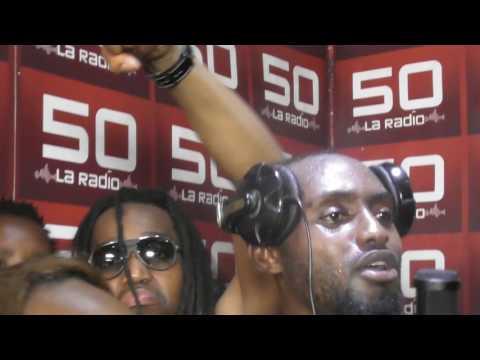 LM Soldat Feat Fixo Jiii Freestyle Radio Télé 50 Clash urbain (Kinshasa) Allo Kinshasound !!!