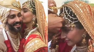 Inside Video: Anand Ahuja Fills Sonam Kapoor