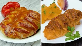 Как приготовить куриные грудки с начинкой - Рецепты от Со Вкусом