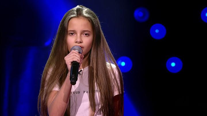 romy  same old love  blind auditions  the voice kids  vtm