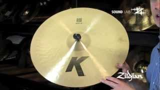 """Zildjian Sound Lab - 20"""" K Ride"""