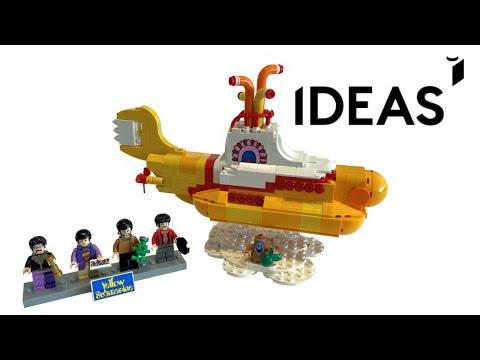 lego-ideas-yellow-submarine-(21306)---speed-build