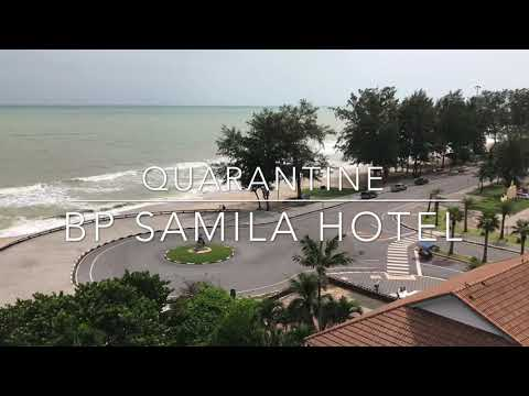 Quarantine before work offshore on BP samila hotel & resort songkhla.
