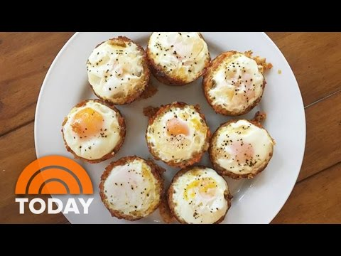 Sweet Potato Hash Brown Egg Cups: Try Siri Daly's Quick Breakfast Recipe   TODAY