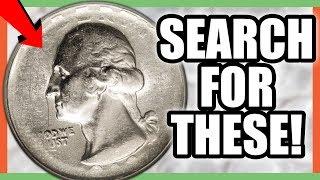 6 RARE ERROR QUARTERS WORTH MONEY VALUABLE WASHINGTON QUARTER COINS
