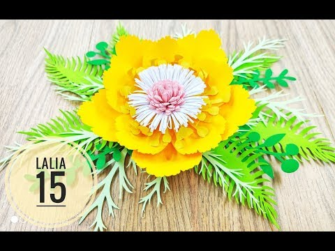 Lalia 15 cardstock DIY Paper flower backdrop
