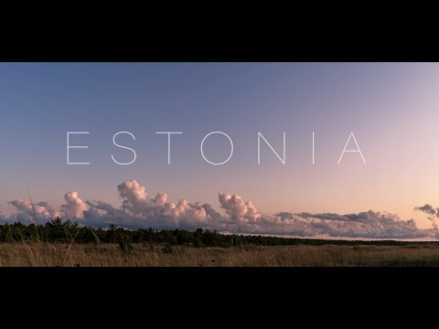 The Baltic Jewel - ESTONIA 4K - Timelapse