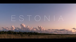 The Baltic Jewel - ESTONIA 4K - Timelapse