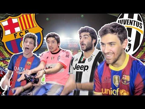 BARCELONA vs JUVENTUS | Champions League 2017 | FIFA 17