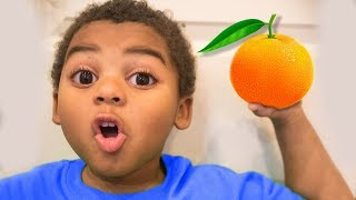 JOHNY JOHNY YES LIGHTNING MCQUEEN! Learn to eat healthy with Nursery Rhyme Skit
