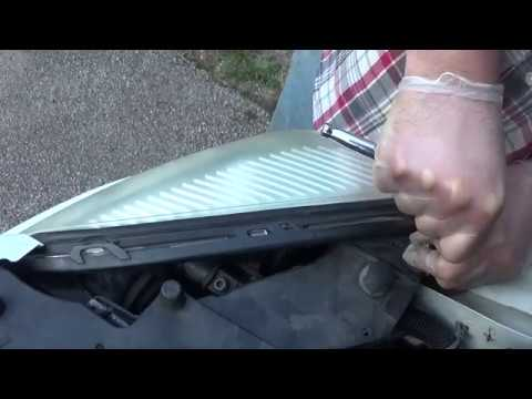 How I Changed A Head Lamp Bulb In A Pontiac Montana SV6