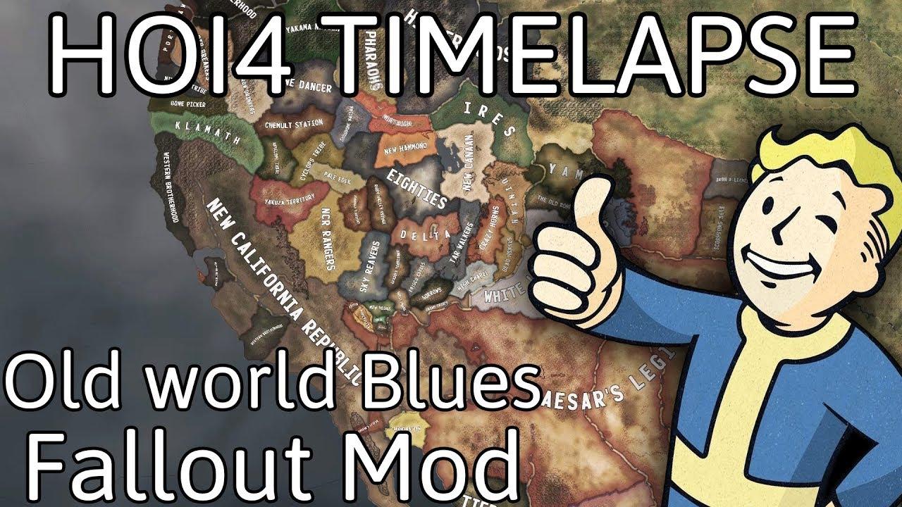 HOI4 Timelapse - Old World Blues (Fallout Mod)
