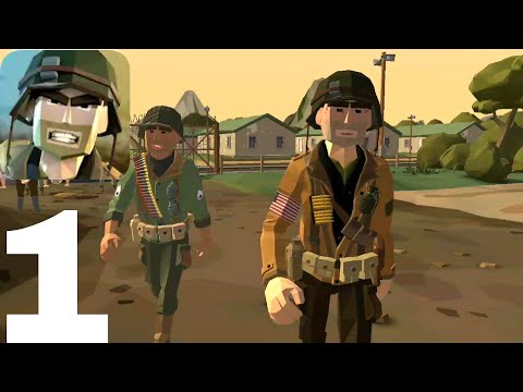 World War Polygon Android Gameplay - Walkthrough