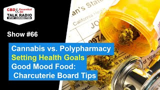 Show #66 - Cannabis vs. Polypharmacy, Setting Health Goals & More