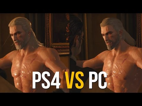 The Witcher 3, PS4 vs PC