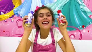 Настя Артем и Мия - игра в сладости и шоколад