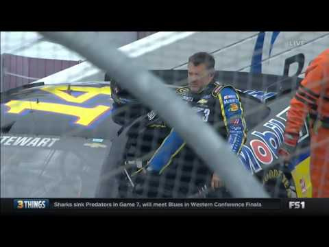 NASCAR Sprint Cup Series 2016. Practice Dover. Trouble for Danica Patrick & Tony Stewart