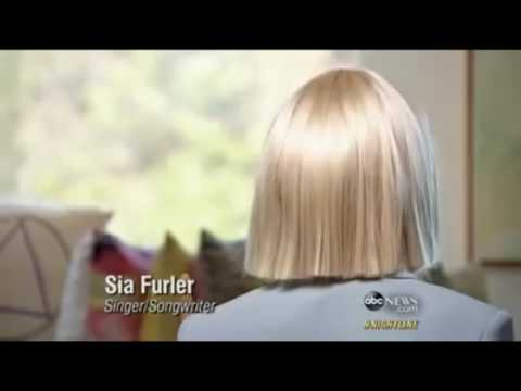 Sia explains why she doesnt show her face on Tv