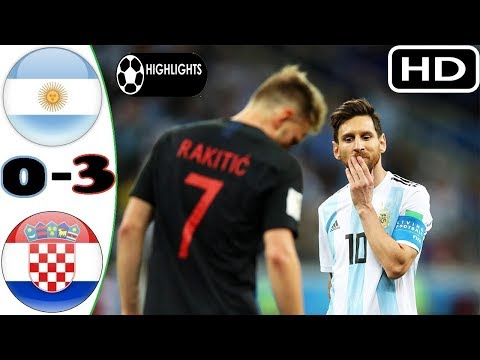 Argentina vs Croatia - All goals and highlights(English Commentary) thumbnail