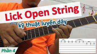 2 câu lick dùng kỹ thuật Luyến dây | Học đàn online | học đàn guitar | học guitar solo | hocdanghita