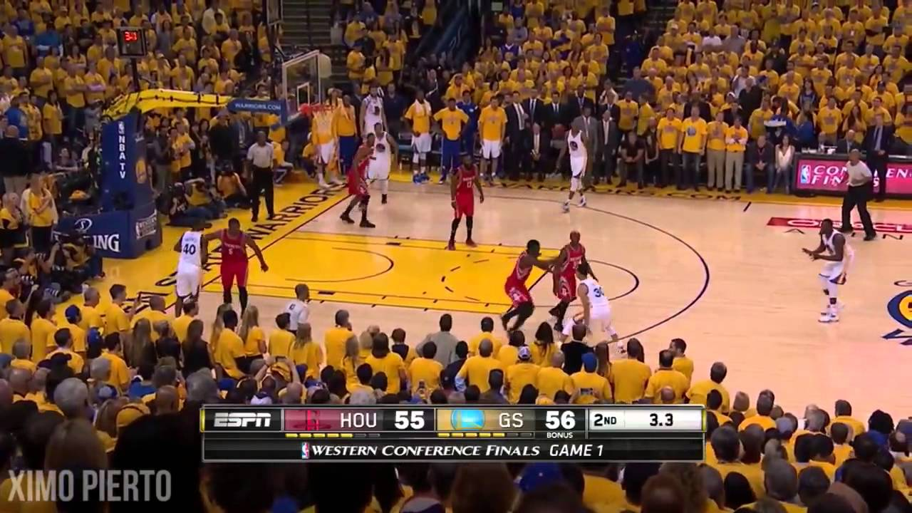 Houston Rockets vs Golden State Warriors - Full Game Highlights - Game 1 - 2015 NBA Playoffs ...