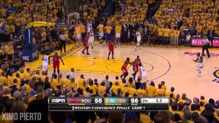 Houston Rockets vs Golden State Warriors - Full Game Highlights  - Game 1 - 2015 NBA Playoffs