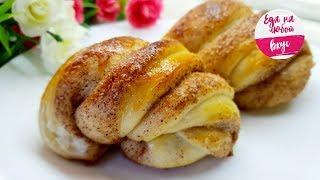 Булочки – просто Восторг! Тесто мягкое и пышное, без яиц и молока.