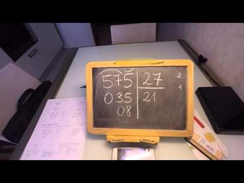 Come eseguire le divisioni con due cifre al divisore