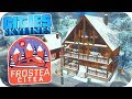 Cities: Skylines - Winter Chalet Village ❄️Project Dam Snow!❄️#2  (Cities Skylines Gameplay)